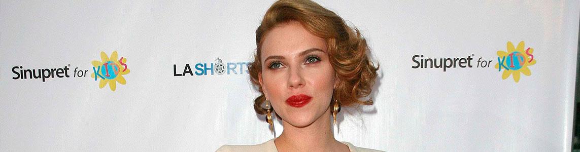 cambios de look más espectaculares de Scarlett Johansson