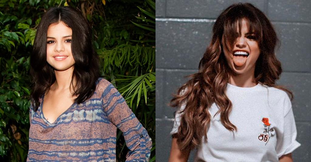 Los cambios de look más impactantes de 2016 : Selena Gomez