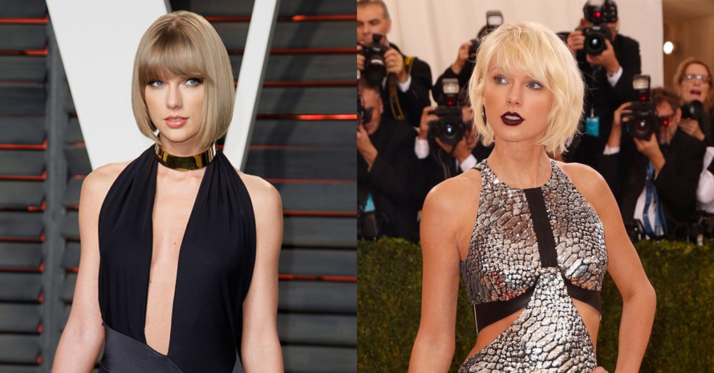 Los cambios de look más impactantes de 2016 : Taylor Swift