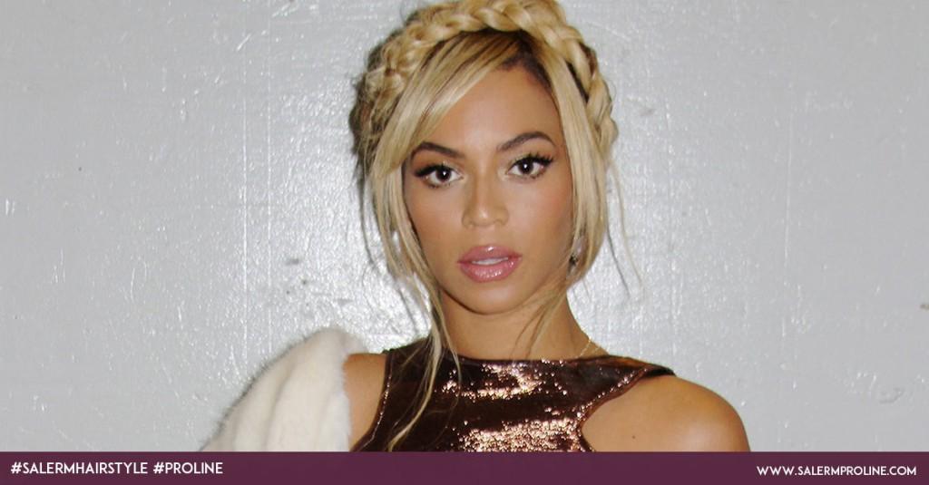 Recogidos con trenzas Beyonce
