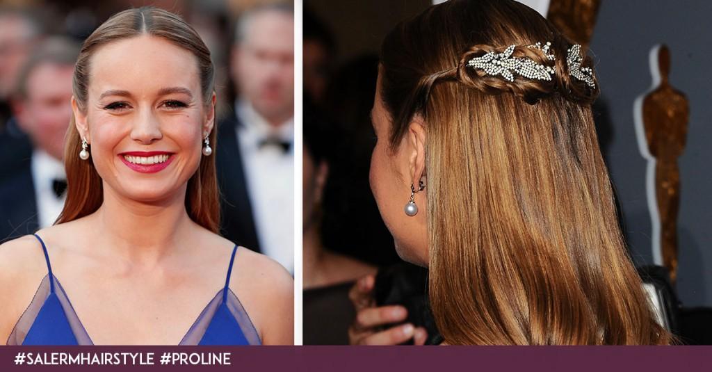 Brie Larson recogido Oscars