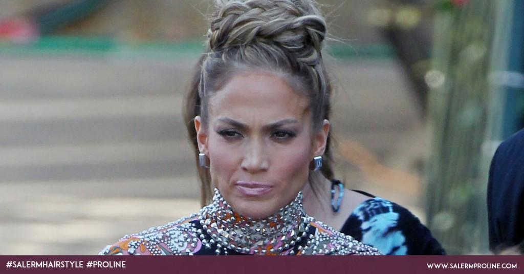 Recogidos con trenzas Jennifer Lopez