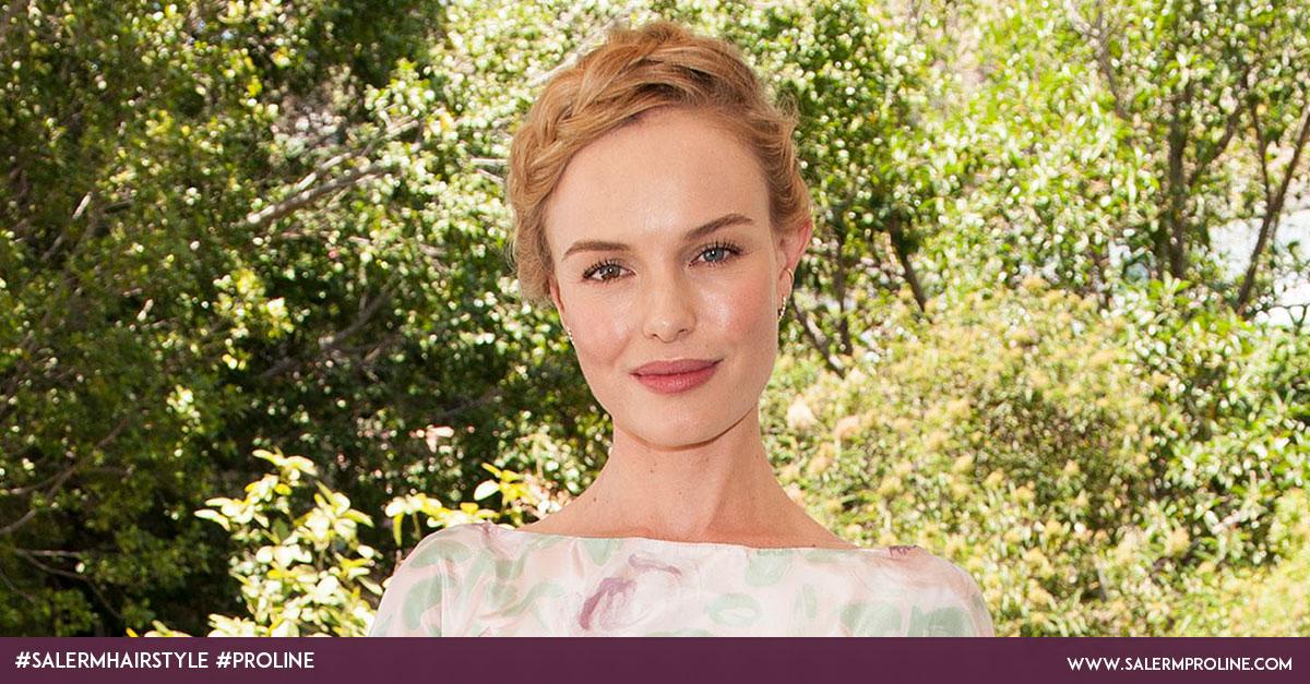 Recogidos con trenzas Kate Bosworth