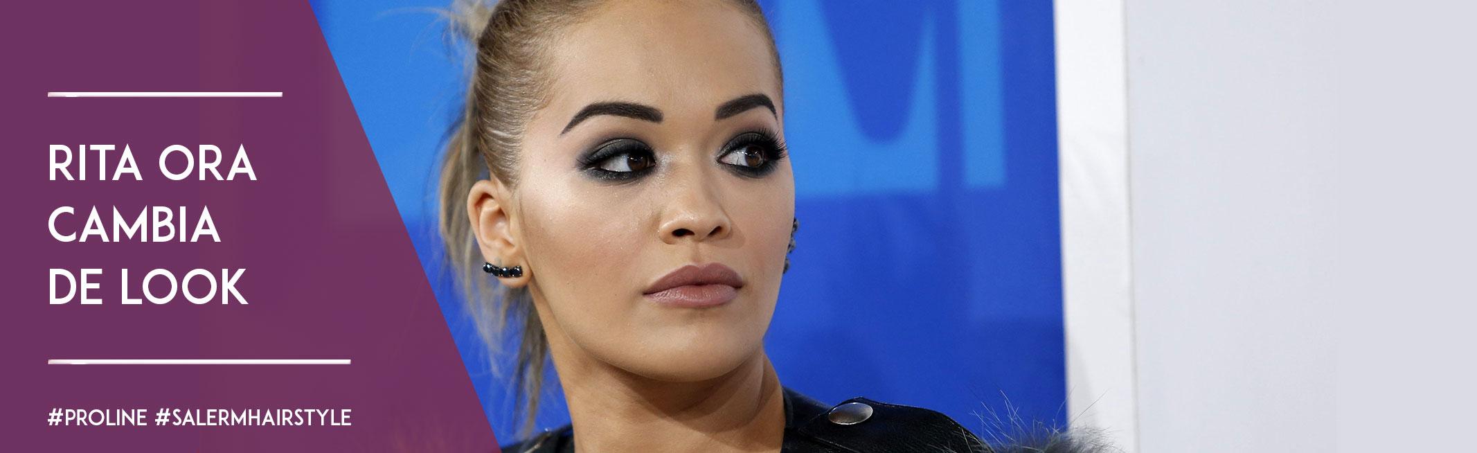 Rita Ora cambia de look