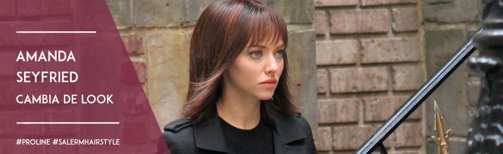 Amanda Seyfried cambia de look