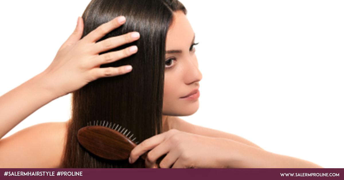 Cepillado para el crecimiento del cabello