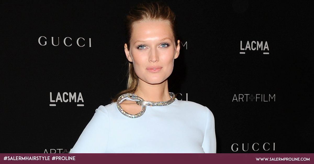 Toni Garrn peinado top model