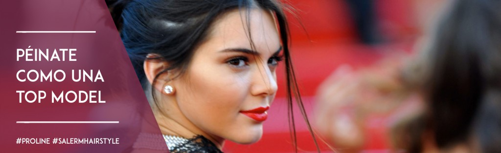 Kendal Jenner Péinate como una top model