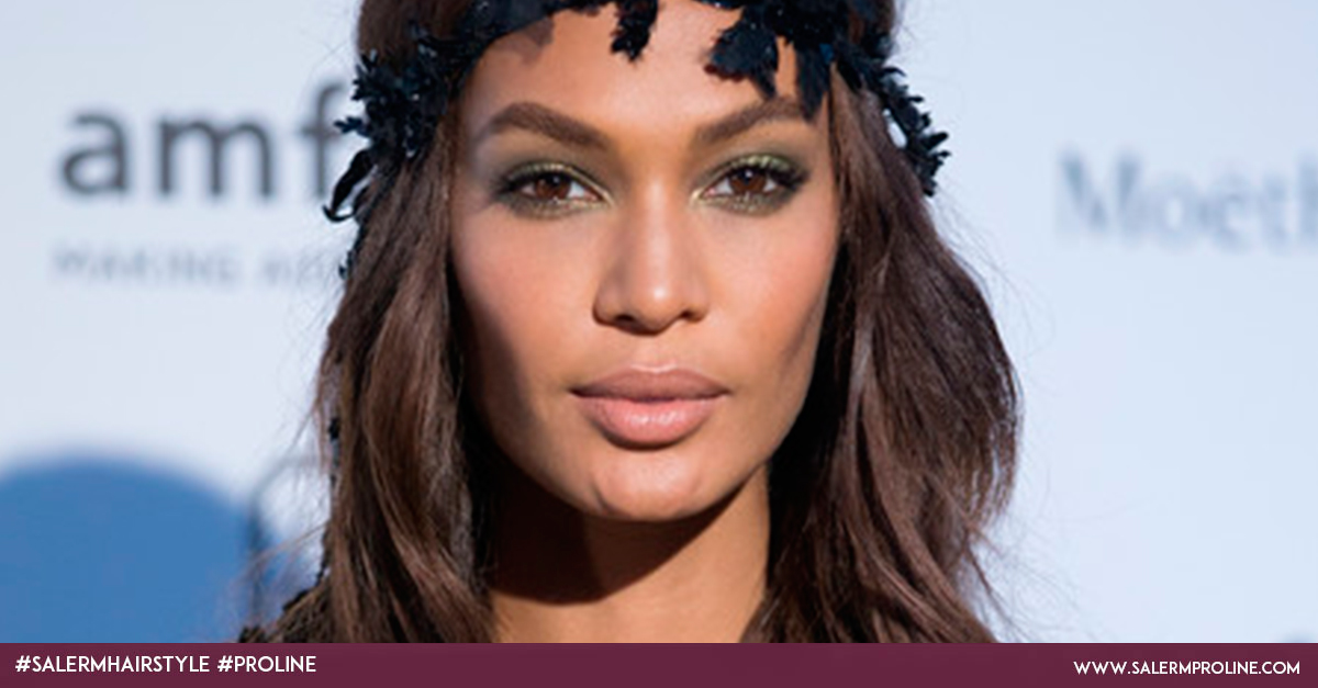 Joan Smalls peinado top model