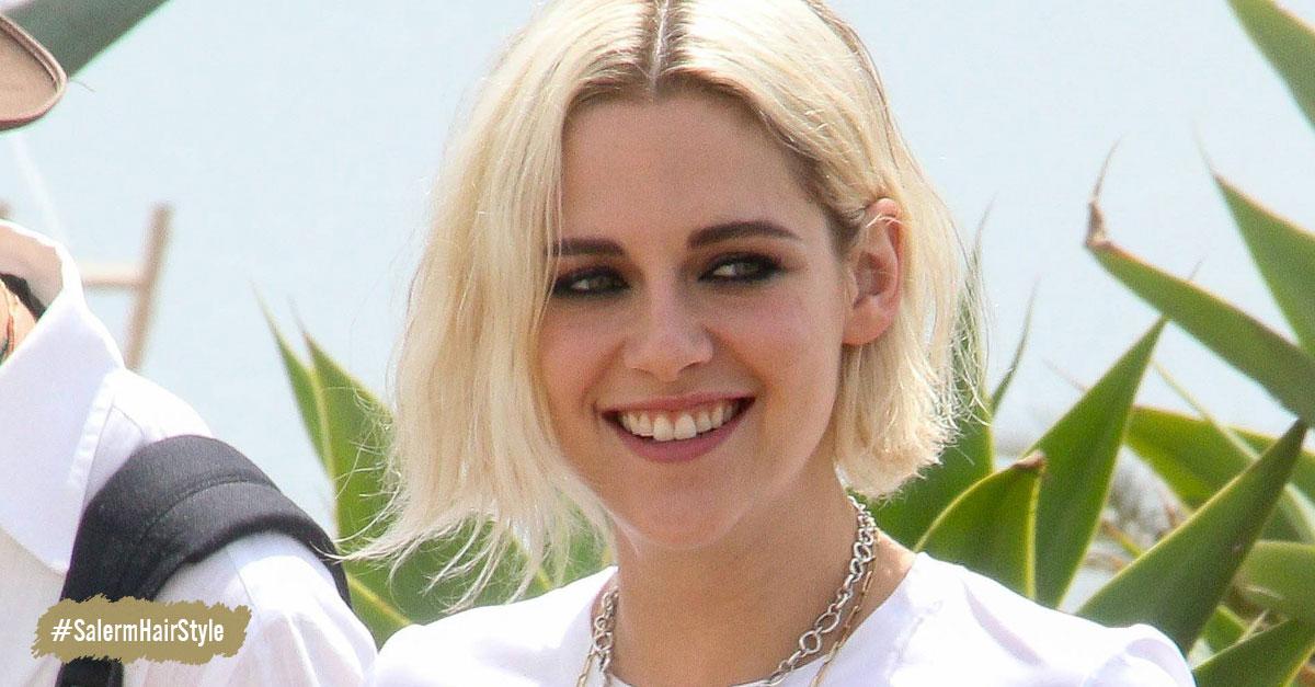 Kristen Stewart - Rubia con cejas oscuras : ¿tendencia para nuestro cabello?