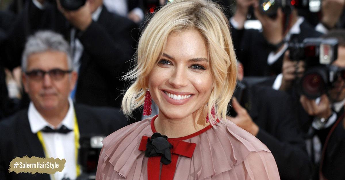 Sienna Miller - Rubia con cejas oscuras : ¿tendencia para nuestro cabello?