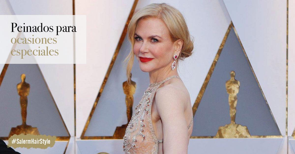 Nicole Kidman - Peinados para ocasiones especiales