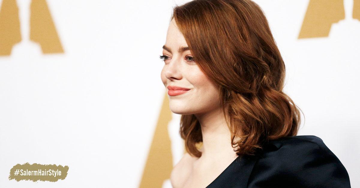 Emma Stone - El corte que arrasa en los Salones de Belleza